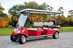 Live Well 30A Bike Rentals & Beach Chairs - 30A 6 Seat Golf Cart Rental