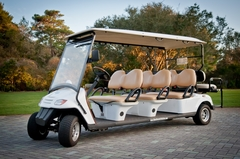 Live Well 30A Bike Rentals & Beach Chairs - 30A 8 Seat Golf Cart Rentals