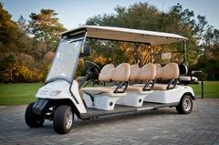 Live Well 30A Bike Rentals & Beach Chairs - 30A 8 Seat Golf Cart Rentals